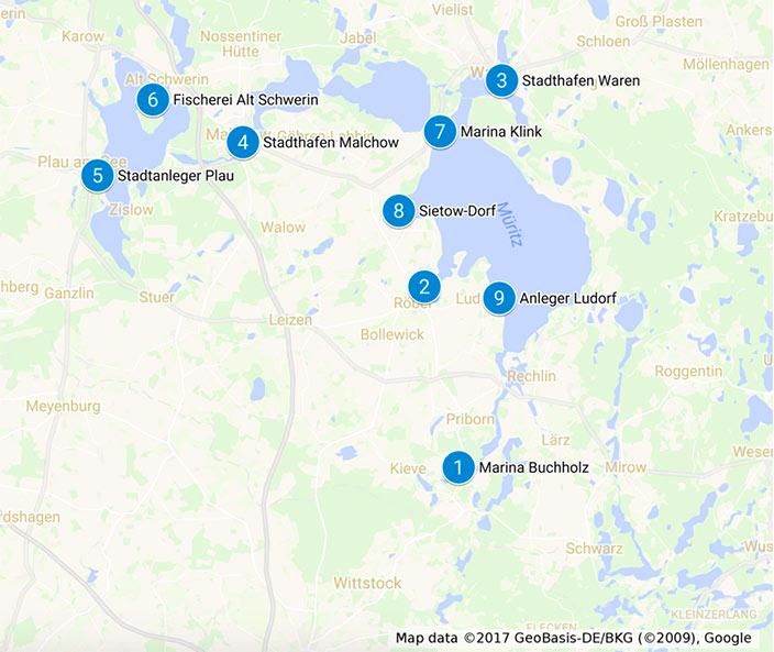 Mecklenburgische Seenplatte Karte Pdf.Bootscharter Muritz Bootsurlaub Auf Der Mecklenburger