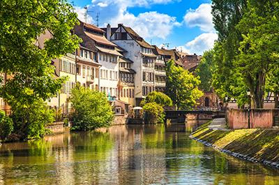 Strasbourg, Frankreich, Hausbooturlaub